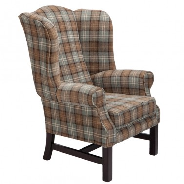 tudor wing chair