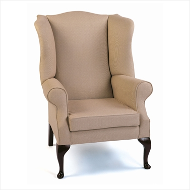 stuart wing chair,